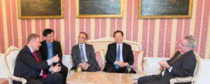 Chinesischer Landwirtschaftsminister zu Gast in Österreich