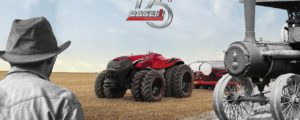 Sima: Autonomer Case IH erstmals in Europa