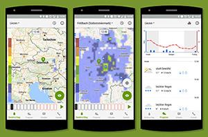 Hagelversicherung schaltet neue Wetter-App frei