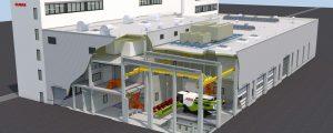 Claas baut neues Test- und Prüfzentrum