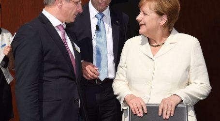 Thema Bodenverbrauch: Weinberger traf Kanzlerin Merkel