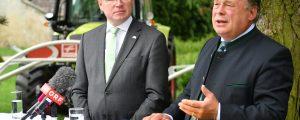 """Pernkopf und Brunner: """"Familienbetriebe stärken"""""""