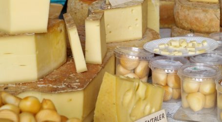 Schweizer Käse im Exportminus