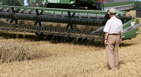 Deutsche Getreideernte schleppend