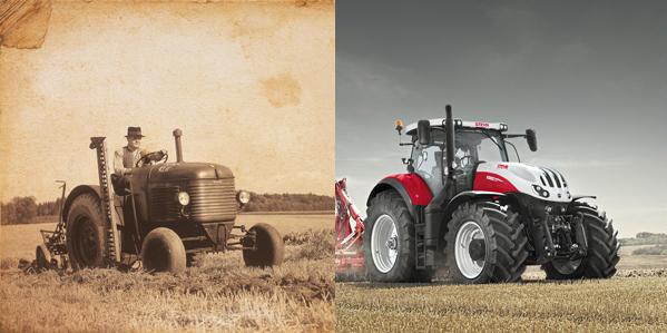 70 Jahre Traktorenbau: Feier bei Steyr