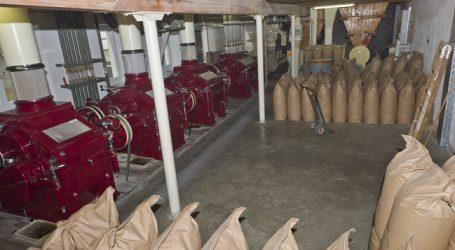 Weniger Mühlen mahlen mehr Getreide