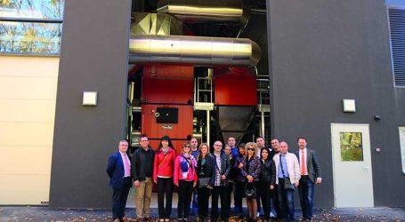 Bulgarische Delegation besuchte Heizwerk Feldbach