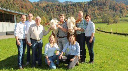 Erster Jungzüchter-Wettbewerb in Tirol vor 25 Jahren