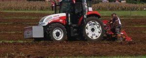 Stefan Steiner erringt Silbermedaille im Graslandpflügen