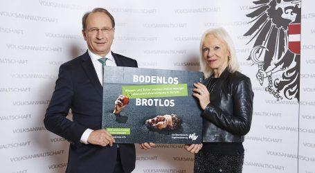 Volksanwältin Brinek unterstützt Bodenverbrauchs-Kampagne
