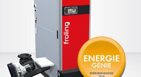 Fröling: Innovationspreis EnergieGenie 2018