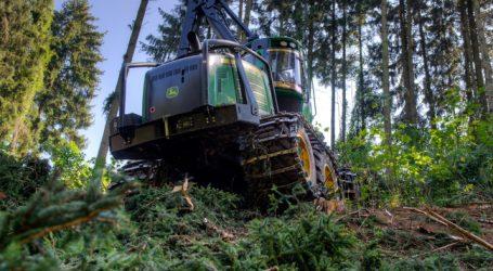 Massive Nachfrage nach neuen Forstharvestern