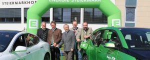 Steiermarkhof erstes Bildungshaus mit E-Tankstelle