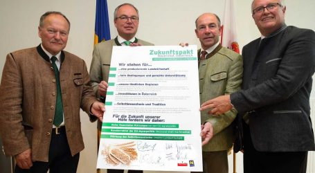 """OÖ und NÖ schmieden """"Pakt für produzierende Landwirtschaft"""""""