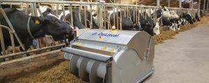 """DeLaval mit """"neuer Art und Weise wie man Kühe füttert"""""""