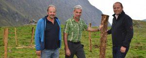 Südtirol erprobt Zaun gegen Wölfe