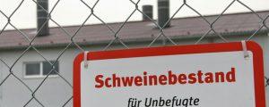 """Deutschland: Stalleinbrüche bleiben """"Hausfriedensbruch"""""""