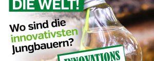 Jungbauern suchen innovativsten Junglandwirt