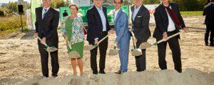 RWA: Spatenstich für neue Zentrale in Korneuburg