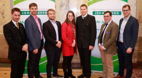 """Young Farmers in Europe"" berichteten"
