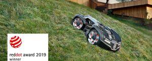 Husqvarna Automower mit Red Dot Award ausgezeichnet
