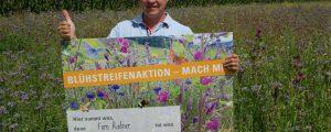 Oberösterreich verlängert Blühstreifenaktion
