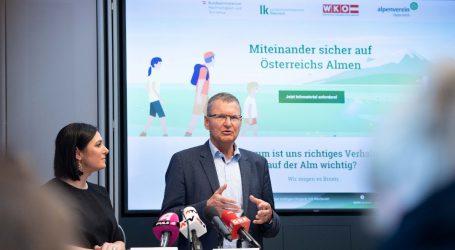 """Köstinger stellt """"Aktionsplan für sichere Almen"""" vor"""