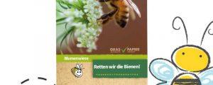FAIE verschenkt 100.000 Bienenwiesen