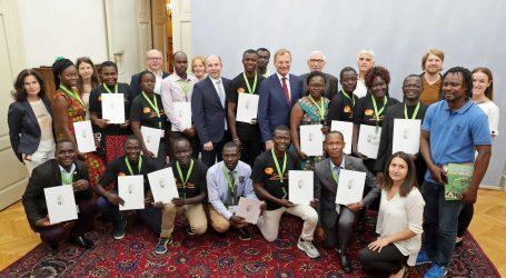 Afrikaner absolvierten Bildungsprojekt in Oberösterreich