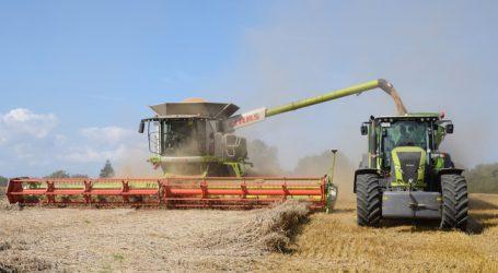 Deutsche Getreideernte im 5-Jahres-Mittel