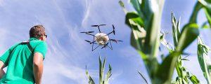 Reges Interesse an Pflanzenschutz mit der Drohne