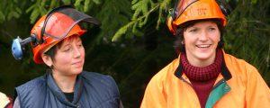 Mentoring für Einsteigerinnen in die Forstbranche