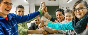 In der Bergbauernschule Hohenlehen wird gefeiert