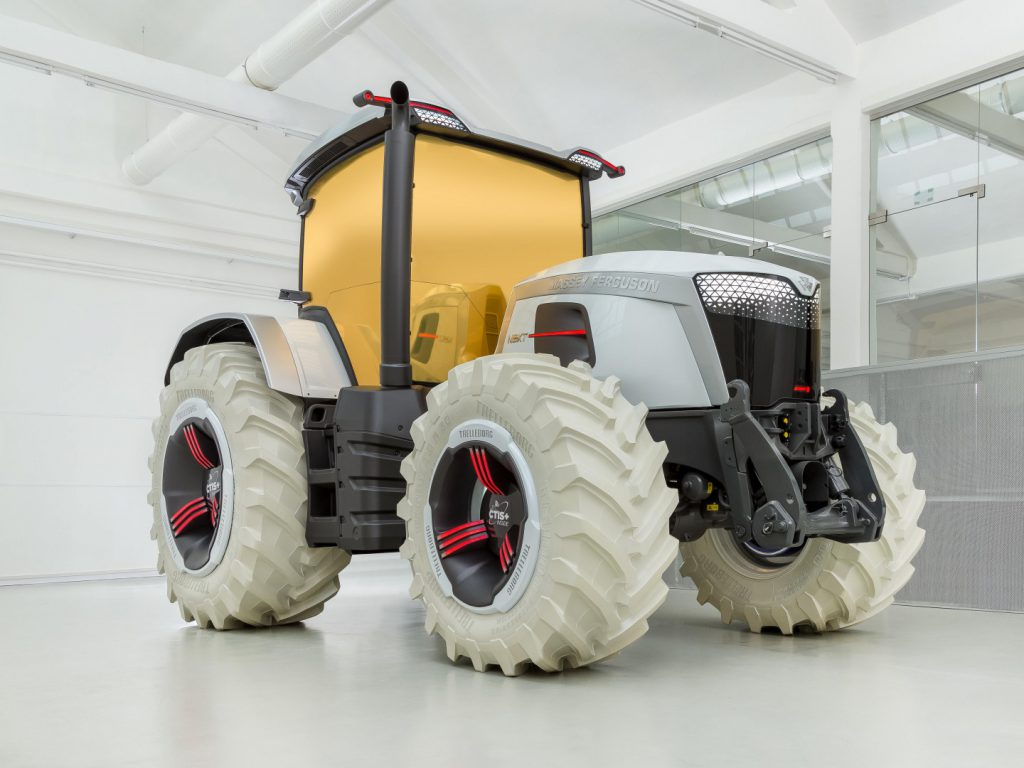 MF enthüllt Concept Tractor