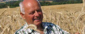 Getreidezüchter Konrad Schulmeister verstorben