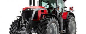 MF 8S Traktoren werden komplett konnektiv