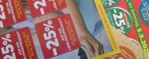 Mikrowarenkorb wurde im Juli erheblich teurer