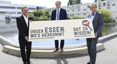 ORF Kantine deklariert die Herkunft von Fleisch und Eiern