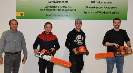Wettstreit unter Forstfacharbeitern in Grimmenstein