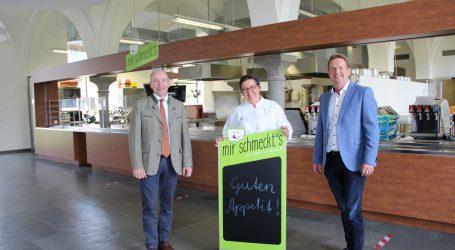 In Lambacher Schulküche regiert die Regionalität