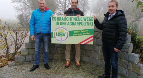 UBV schickt Kandidaten für LK-OÖ-Wahl ins Rennen