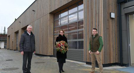 Neue Halle für Gartenbauschule Langenlois