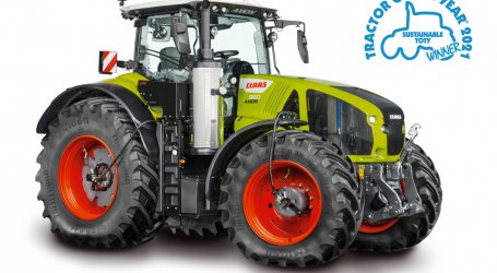 CLAAS AXION 960 CEMOS ist Sustainable TotY!