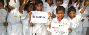 Suzuki Austria spendet für Sonne International