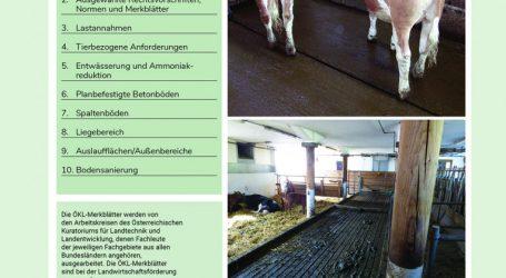 Worauf man bei Rinderstallböden achten soll?