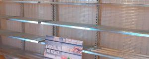 Als Hamsterkäufe Regale leerten