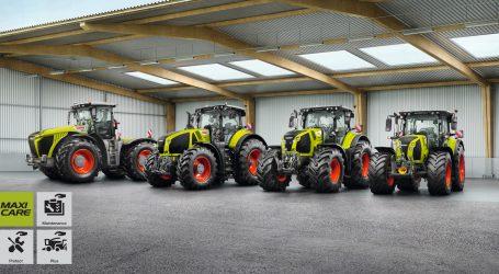 Erweitertes Servicepaket für Claas-Traktoren