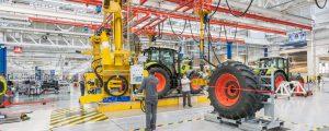 Claas fährt Fabrik in Le Mans hoch
