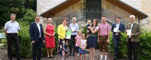 Green Care Plakette an Hardeggerhof verliehen