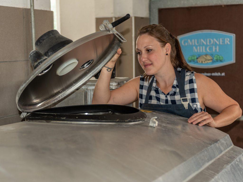 Silbernes Markenjubiläum bei Gmundner Milch